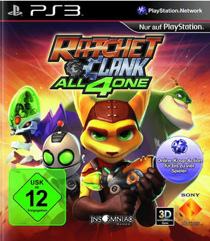 Sony Ratchet & Clank: All 4 One (PS3)