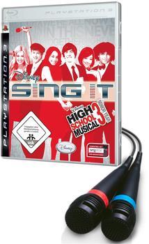 Disney High School Musical 3 Sing it! inklusive 2 Microphone