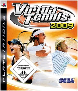 Sega Virtua Tennis 2009 (PS3)