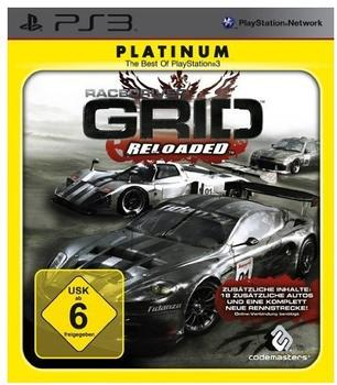 Codemasters Race Driver: GRID: Reloaded (Platinum) (PS3)