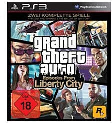 GTA: Episodes from Liberty City (PS3)