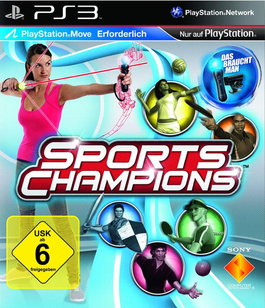 Sports Champions (Move Edition) (PS3)