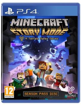 Avanquest Minecraft: Story Mode - A Telltale Games Series (PEGI) (PS4)