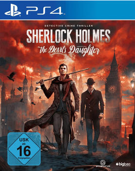 Bigben Interactive Sherlock Holmes: The Devils Daughter (PS4)