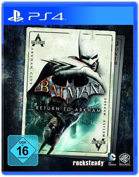 WB Games Batman: Return to Arkham (PS4)