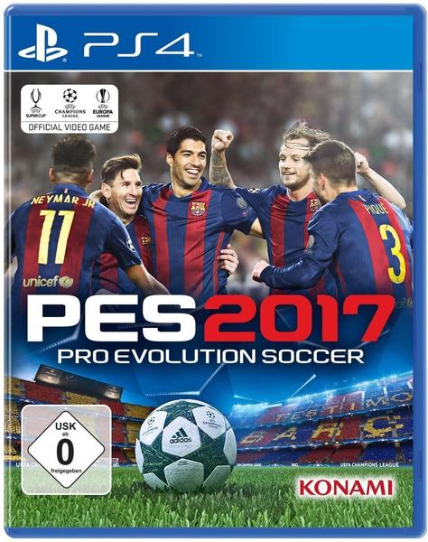 PES 2017 (PS4) Standard-Edition