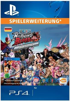 One Piece: Burning Blood - Wanted Pack (Add-On) (PS4)
