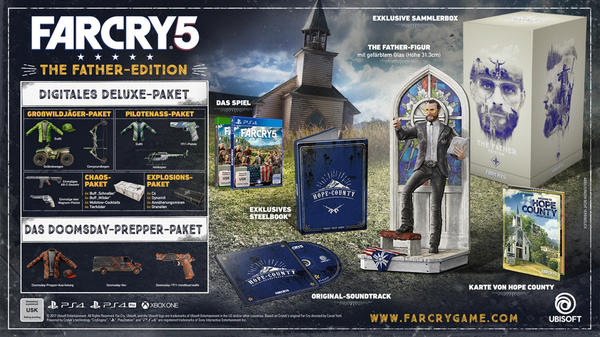 Far Cry 5: The Father-Edition (PS4)