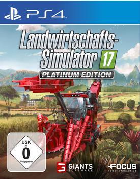 Landwirtschafts-Simulator 17: Platinum Edition (PS4)