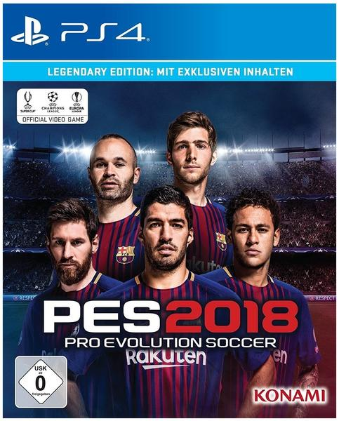 Pro Evolution Soccer 2018: Legendary Edition (PS4)