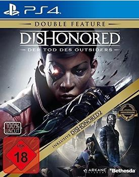 Dishonored: Der Tod des Outsiders + Dishonored 2: Das Vermächtnis der Maske - Double Feature (PS4)