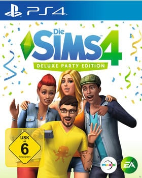 Die Sims 4: Deluxe Party Edition (PS4)