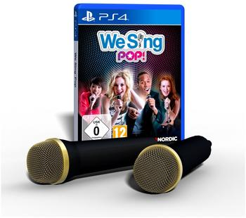 We Sing: Pop! + 2 Mikrofone (PS4)