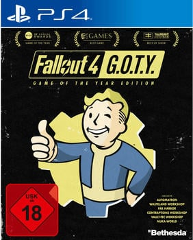 BETHESDA Fallout 4 - Game of the Year Edition (PEGI) (PS4)