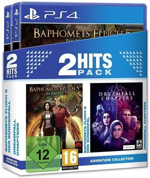 2 Hits Pack: Baphomets Fluch 5: Der Sündenfall + Dreamfall Chapters (PS4)