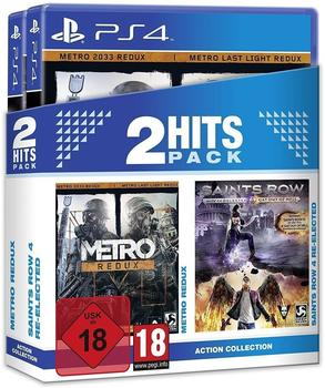 2 Hits Pack: Metro: Redux + Saints Row 4: Re-Elected (PS4)