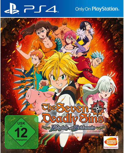The Seven Deadly Sins: Knights of Britannia (PS4)