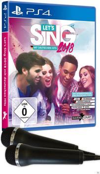 Let's Sing 2018 mit Deutschen Hits + 2 Mikrofone (PS4)