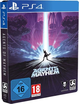 Agents of Mayhem: Steelbook Edition (PS4)