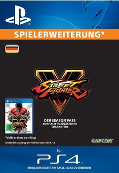 Street Fighter V: Season Pass (Add-On) (PS4)