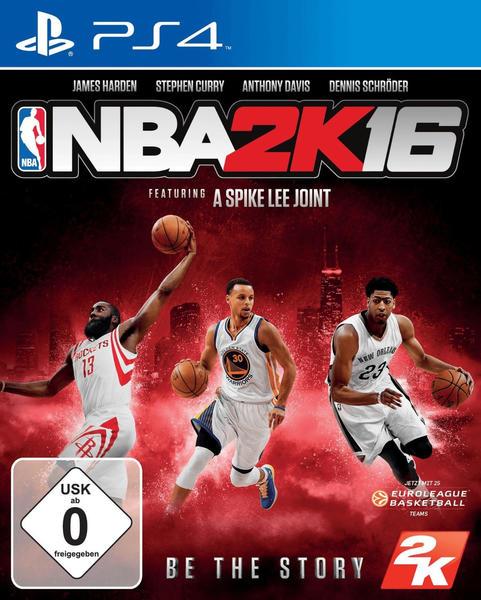 2K Sports NBA 2K16 (PEGI) (PS4)