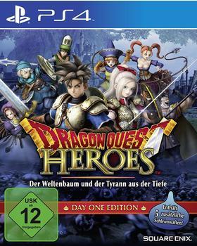 Square Enix Dragon Quest Heroes: Der Weltenbaum und der Tyrann aus der Tiefe - Day One Edition (PS4)