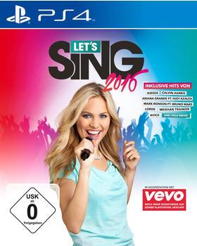 KOCH Media Lets Sing 2016 (PEGI) (PS4)