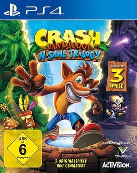 Activision Crash Bandicoot: N.Sane Trilogy (PEGI) (PS4)