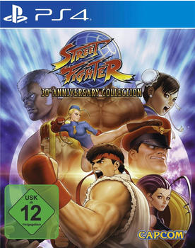 Capcom Street Fighter Anniversary Collection PS4 USK: 12