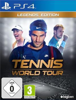 Bigben Interactive BigBen Playstation 4 - Spiel Tennis World Tour - Legends Edition