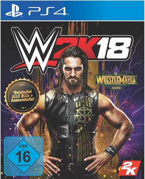 WWE 2K18: Wrestlemania Edition (PS4)
