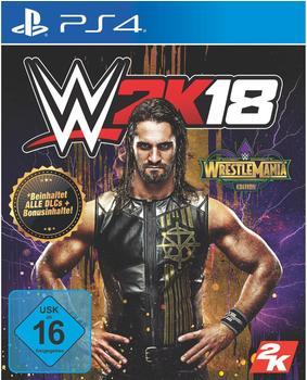 WWE 2K18: Wrestlemania Edition (PS4)