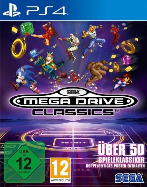 Sega Mega Drive Classics PS4 USK: 12