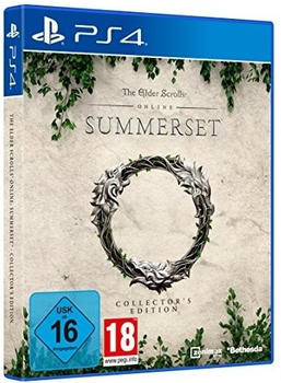 BETHESDA Elder Scrolls Onl. Summerset PS-4 CE incl Gabe der Königin AT