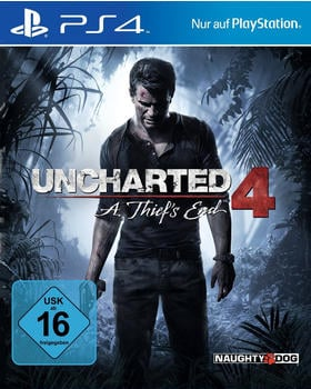 Sony Uncharted 4A Thiefs End PS4 USK: 16
