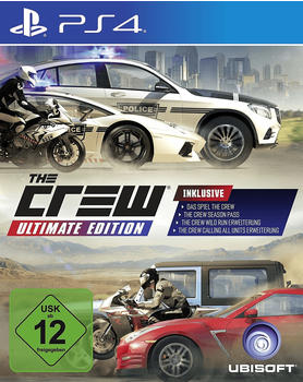 Ak tronic The Crew - Ultimate Edition (PlayStation 4)
