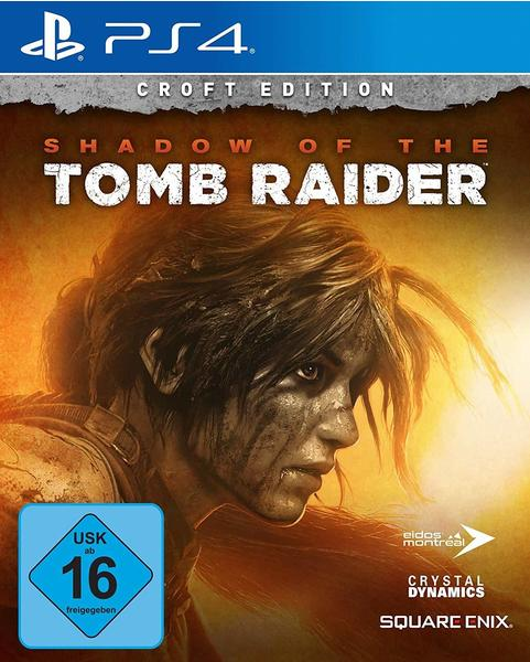 Square Enix Shadow of the Tomb Raider - Croft Edition (PS4)