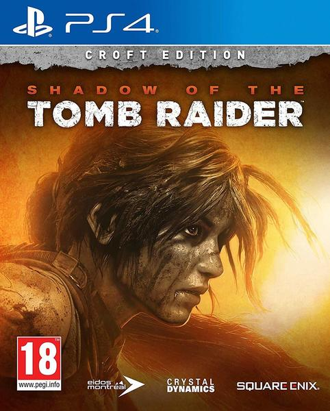 Square Enix Shadow of the Tomb Raider - Croft Edition (PEGI) (PS4)