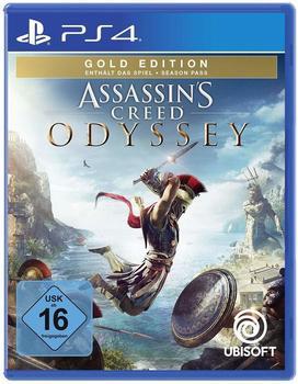 UbiSoft Assassins Creed: Odyssey - Gold Edition (USK) (PS4)