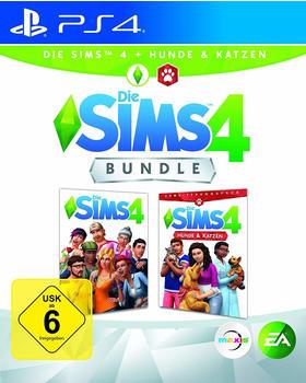 Electronic Arts Die Sims 4 Bundle: Die Sims 4 + Hunde & Katzen (PlayStation 4)