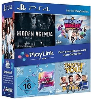 Hidden Agenda + Wissen ist Macht + SingStar: Celebration + That's You! (PS4)