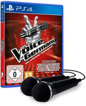 The Voice of Germany + 2 Mikrofone (PS4)