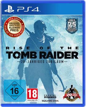 keine Angabe Rise of the Tomb Raider PS4 USK: 16