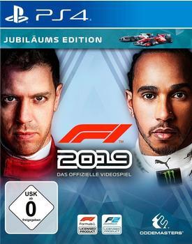 Codemasters F1 2019 Jubiläums Edition (PlayStation 4)