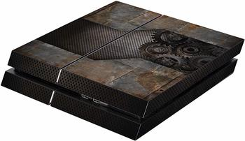 keine Angabe Software Pyramide Skin für PS4 Konsole Rusty Metal Cover PS4