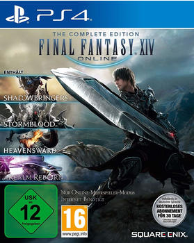 Final Fantasy XIV: The Complete Edition (A Realm Reborn + Heavensward + Stormblood + Shadowbringers) (PS4)