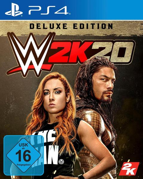 WWE 2K20: Deluxe Edition (PS4)