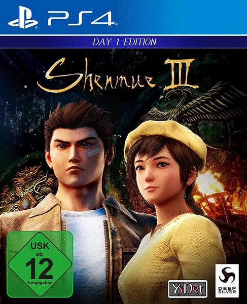 Sony Shenmue III Day One Edition PS4 USK: 12