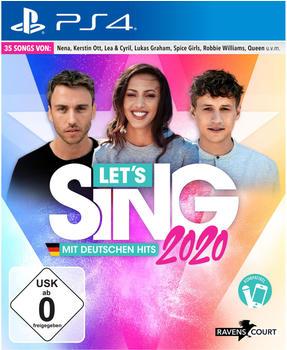 Let's Sing 2020 mit Deutschen Hits (PS4)