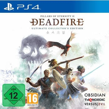 THQ Pillars of Eternity II: Deadfire - Ultimate Edition PS4 Videospiel PlayStation 4
